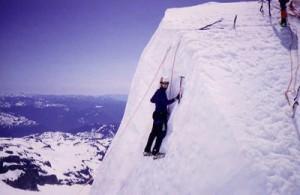 Ice climbing on Mt. Rainier - Erik Charlton flickr.com