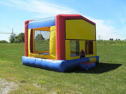 Bounce House Rental Waiver Protects One Stop Rental Tool And